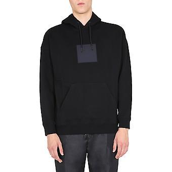 Givenchy Bmj07y30af001 Mænd's Sort Bomuld Sweatshirt