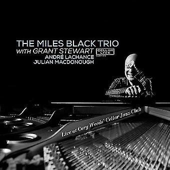 Miles Black & Grant Stewart - Live at Cory Weeds' Cellar Jazz Club [CD] USA import