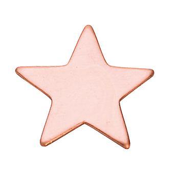 Kupfer Blanks Star Pack von 6 20mm X 1mm