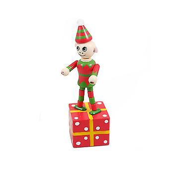 Push Up Press Up Elf - Cracker Filler Cadeau