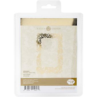 Couture Creations Anna Griffin Framed Holly Hotfoil Stamp