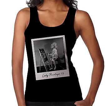 Thunderbirds Lady Penelope schilderij vrouwen ' s vest