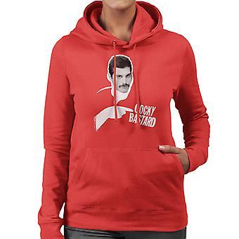 Freddie Mercury Of Queen 1981 Women's Hooded Sweatshirt