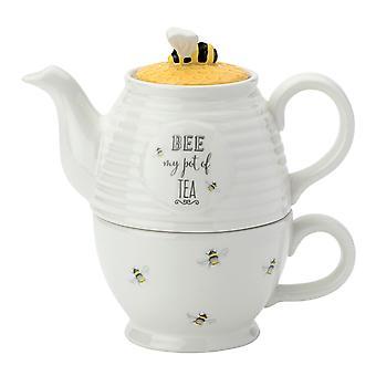 English Tableware Bee Happy Tea For One