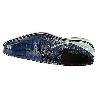 Stacy Adams Mens Triolo Cuir Square Toe Slip On Chaussures