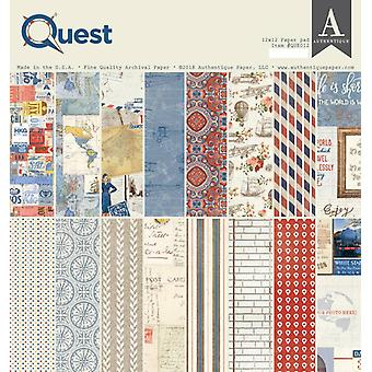Authentique Quest 12x12 pulgadas De papel Pad