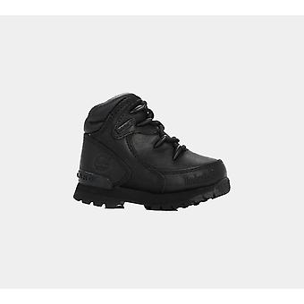 טימברלנד היורו רוק hkr שחור/פעוט שחור ' S 6489r נעליים מגפיים