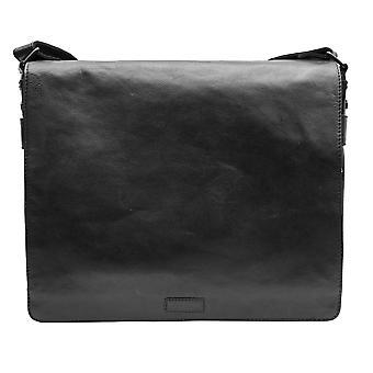 Primehide Mens Leather Messenger Sac Portable Épaule Gents Tablette 566