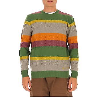 Etro 1m93096928001 Men's Suéter de Lã Multicolor