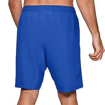 Under Armour Mens Woven Graphic Sports Gym Training Shorts Bottoms Pants - Blue