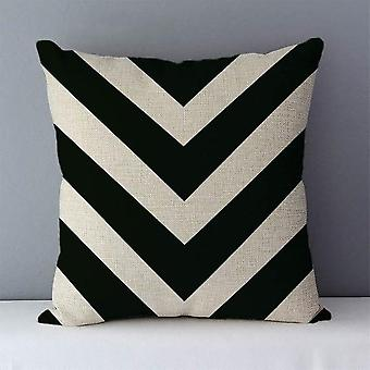 Quality Cozy Popular Geometric Couch Cushion Pillows For Home Decoration