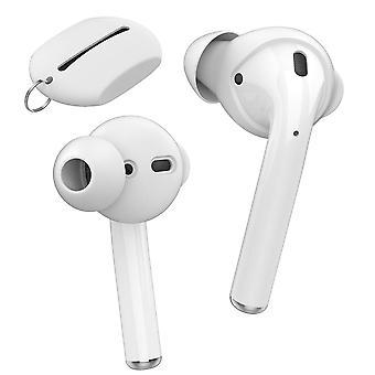 Fone de ouvido Bluetooth com carregamento sem fio manga de silicone