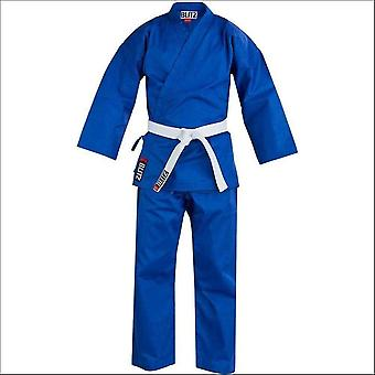 Blitz sports student polycotton karate suit - blue