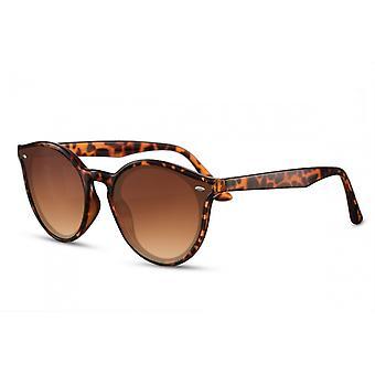 Sunglasses Unisex Cat.3 Brown Turtle (CWI2505)