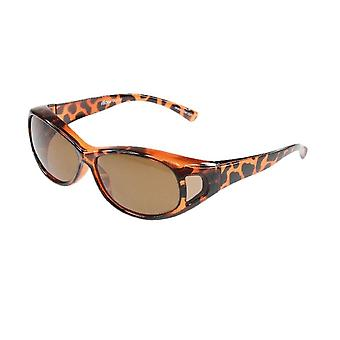 Sunglasses Unisex brown with brown lens Vz0007cb