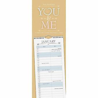 Otter House 2021 Slim Calendar-you & Me