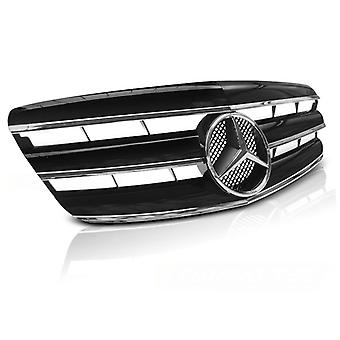 Grill MERCEDES W221 05-09 CL STYLE BLACK CHROME