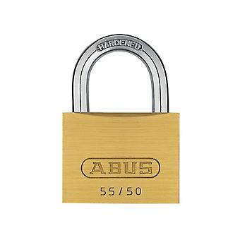 ABUS 55/50mm Brass Padlock Carded ABU5550C