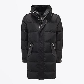 Mackage  - Reynold - Hooded Shearling Coat - Black