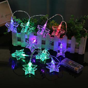 10 Led String Light - Battery Operated For Party Decoration