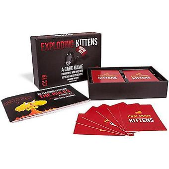 Exploding Kittens A Card Game About Kittens NSFW Edition Kids Toy