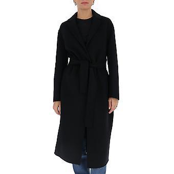 'S Max Mara 90160203600700013 Femmes-apos;s Manteau de laine noire