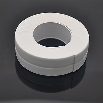 1 rollo de pvc baño pared tira de sellado impermeable cinta autoadhesiva