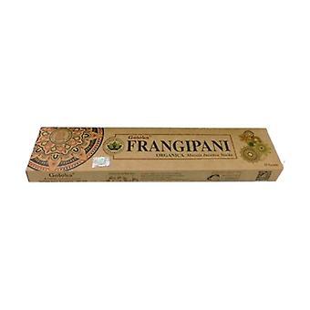 Goloka Organic Frangipani Incense 15 g