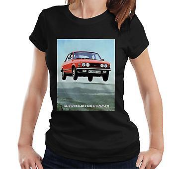 Austin Allegro 3 Mejor que nunca British Motor Heritage Camiseta de mujer's