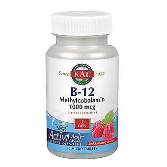 Kal B-12 Methylcobalamin ActivMelt, 1,000 mcg, 90 Tabs