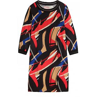 Sandwich Clothing Red Bold Design Shift Dress