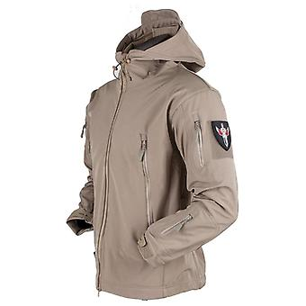 Army Shark Skin Soft Shell Clothes, Tactical Windproof Waterproof Jacket