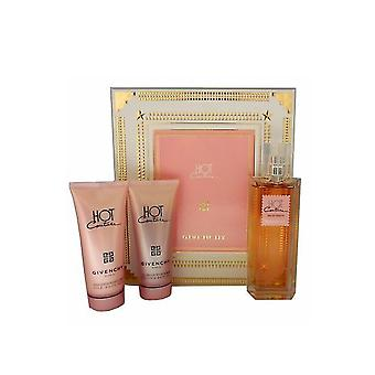 Givenchy Hot Couture for Women-3 Pc Gift Set 3.3-Ounce EDT Spray, 3.3-Ounce Silk Body Veil, 3.3-Ounce Delicate Bath Gel