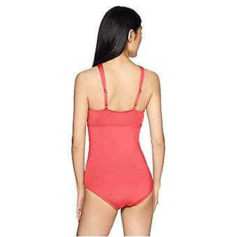 Cole of California Women's Cross Front Sexy Keyhole One Piece Swimsuit, Coral...