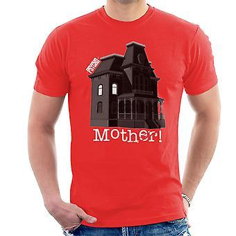 Psycho Norman Bates Home Mother Men''s T-Shirt