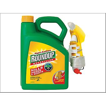 Roundup Fast Acting Weedkiller Ready to Use 3L