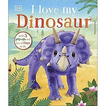 I Love My Dinosaur [Board book]
