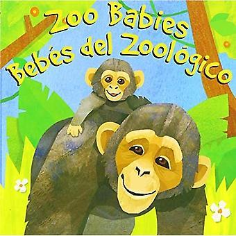 Zoo Babies/Bebes del Zoologico (Amazing Actions Bilingual) [Board book]