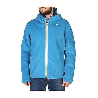 K-Way - Clothing - Jackets - K008I70_907 - Men - deepskyblue - XL