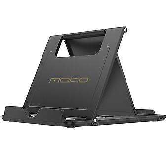 Moko phone/tablet stand, foldable desktop holder fit with iphone 11 pro max/11 pro/11, iphone xs/xs
