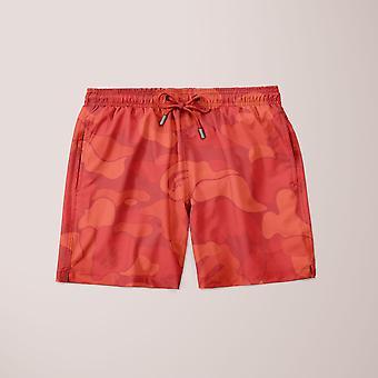 Alpine røde retro shorts