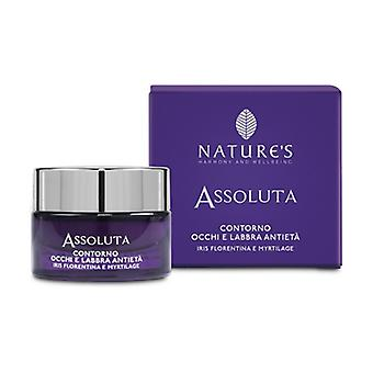 Absolute Anti-aging eye and lip contour 15 ml of cream