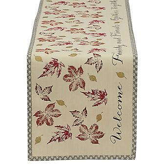 Dii Gather Together Print Table Runner
