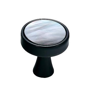 Cabinet Hardware Knob Single Hole Drawer Handle Colorful Marbling Large
