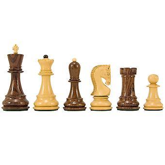 Antipodean Series rosentræ Staunton skakbrikker 4 Inches