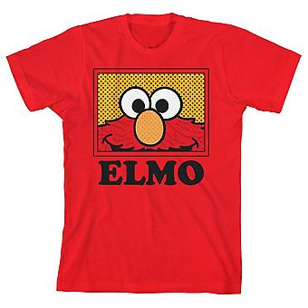 Boys elmo shirt kids clothing sesame street apparel