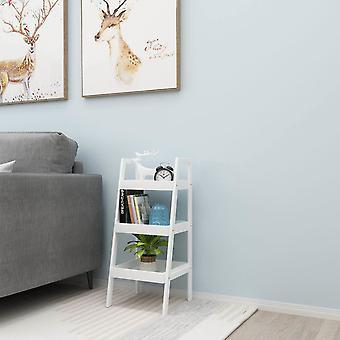 Boekenkast - nachtkastje schuin - 3 schappen - 72x29x30 cm