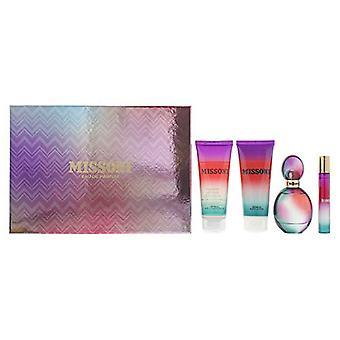 Missoni (2015) Gift Set 50ml EDP + 50ml Body Lotion + 50ml Shower Gel + 10ml EDP