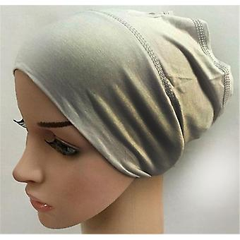 Soft Modal Interior Hijab Caps Musulman Stretch Turban Cap / underscarf Bonnet Hat