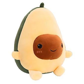 Soft Stuffed Avocado Bed Cushion Doll
